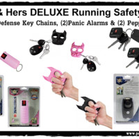 His & Her Runners DELUXE Safety Kit