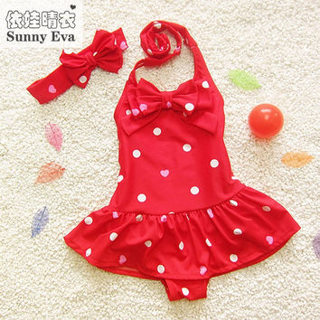 sunny eva girls swimsuits one piece 2017 brand girl child kids bathing suit children's swimwear girls bathing suits on beach