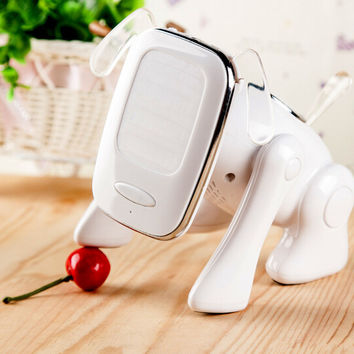 Cute Robot Dog Any Phone / iPad Wireless Bluetooth Speaker