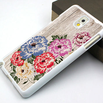 chinest flower samsung note 2,wood grain flower samsung note 3 case,wood grain flower samsung note 4 case,beautiful flower galaxy s3 case,vivid flower galaxy s3 case,beautiful wood flower image galaxy s4 case,gift galaxy s5 cover
