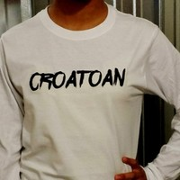 Supernatural Croatoan Long Sleeve T-Shirt. from Evangelina's Closet