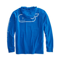 Shop Long-Sleeve Whale Performance Hoodie T-Shirt at vineyard vines