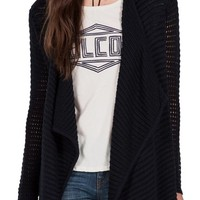 Volcom Hold on Tight Open Cardigan | Nordstrom