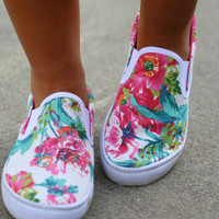 In Full Bloom Shoes: Multi