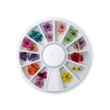 Nail Art Design - Flower Wheel Set #3