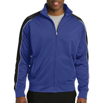 Sport-Tek Piped Tricot Track Jacket. JST92