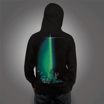 Jedi Glow-in-the-Dark Unisex Zip-Up Hoodie - Exclusive