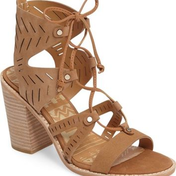 Dolce Vita Luci Ghillie Lace Sandal (Women) | Nordstrom