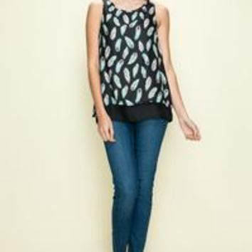 Feather Double Layer Tank