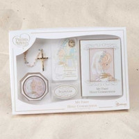 ROMAN 6PC GIRL COMMUNION SET PRECIOUS MOMENTS