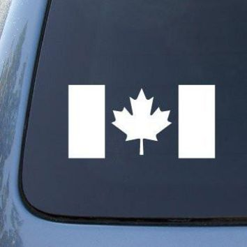 CANADA FLAG CANADIAN - Car, Truck, Notebook, Vinyl Decal Sticker