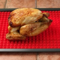 Silicone Healthy Cooking Baking Mat Non-stick, Red 1 Piece by Jollylife
