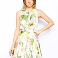 Love Skater Dress in Floral