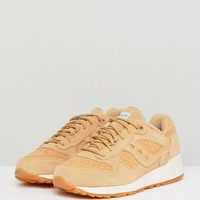 Saucony 5000 Weave Trainers In Tan at asos.com