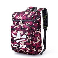 """Adidas"" Fashion Multi-functional Backpack Laptop School Bag Sport Travel Bag"