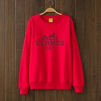 One-nice™ Hermes Fashion Casual Top Sweater Pullover