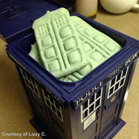 Dr. Who Tardis Cookie Cutter