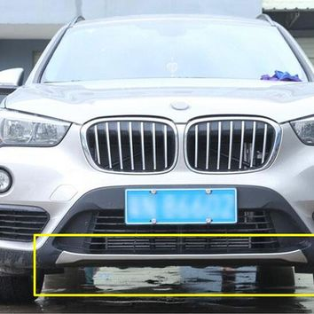 For BMW f48 X1 2016 2017 Car-styling 304 Stainless Front Bumper Sill Plate Protector Cover Trim Stickers 1pc