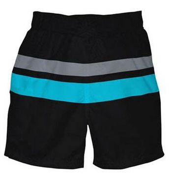 i play.® Mod Ultimate Swim Diaper Block Aqua Board Shorts