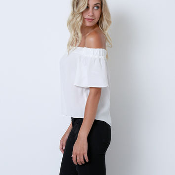 Last Chance Top - White