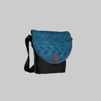 Aztec Confusion Messenger Bag from Zazzle.com