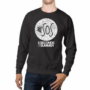 5 Seconds Of Summer Flowers Unisex Sweaters - 54R Sweater