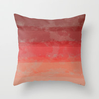 What. Throw Pillow by Nathan Primeau