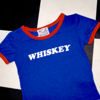 SWEET LORD O'MIGHTY! WHISKEY RINGER IN NAVY