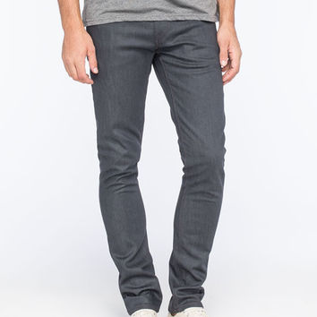 Volcom Vorta Mens Slim Straight Jeans Grey  In Sizes