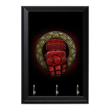 Doom Hand Of The King Decorative Wall Plaque Key Holder Hanger