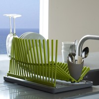 MODULE R   Black and Blum High & Dry Dish Rack - Organization and Storage - Cooking and Eating