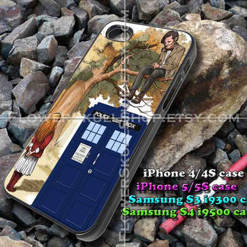 Alice Wonderland and Doctor Who iphone case, iphone 4/4S, iphone 5/5S, iphone 5c, samsung s3 i9300, samsung s4 i9500, design accesories