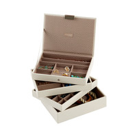 Vanilla Classic Stackers Premium Stackable Jewelry Box