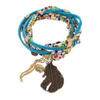 Bee Charming Jewelry Trade Wrap Bracelet - Multi