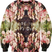 I Hope Your Wifi Dies Sweater