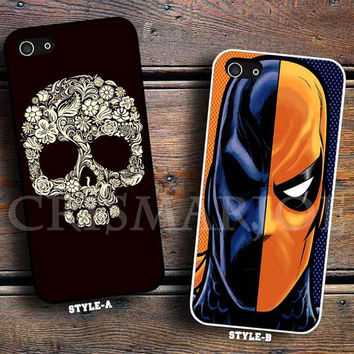 sugar skull art & Deathstroke