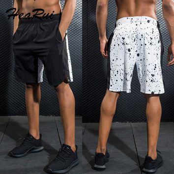 Top Quality Men's Basketball Shorts Sport Shorts For Big Men Gym Shorts Training Running Shorts With Pocket 2017 New Plus Size