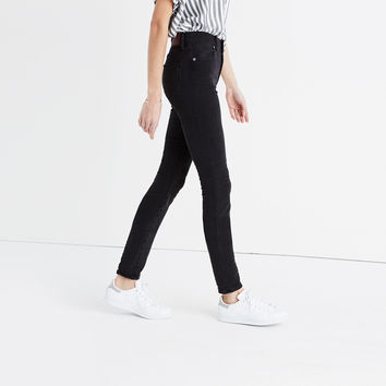 "9"" High-Rise Skinny Jeans in Lunar"