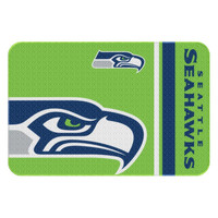 Seattle Seahawks NFL Tufted Rug (30x20)