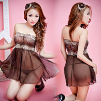 Cute Hot Deal On Sale Sexy Lace Skirt Exotic Lingerie [4933174084]