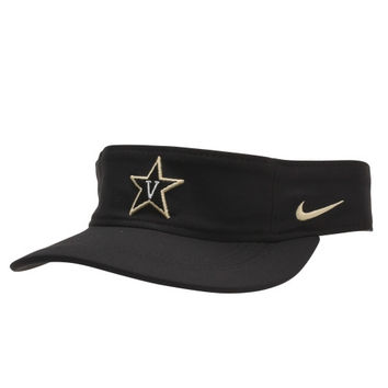 Vanderbilt Commodores Nike Training Performance Visor – Black