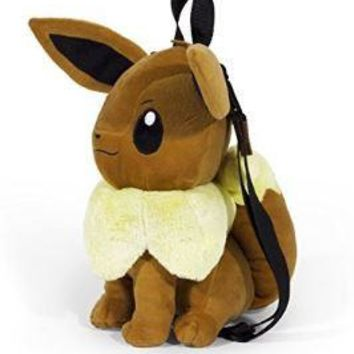Pokemon Eevee Plush Backpack