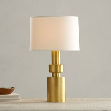 Geo Brass Lamp Base