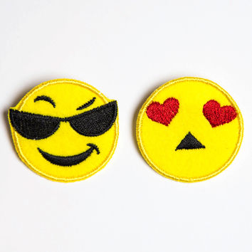 Daring Emoji Patch Pin Set