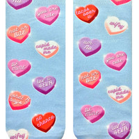 Heart Candies Ankle Socks