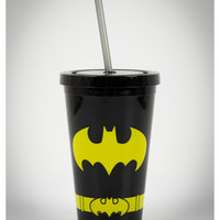 Batman 12 oz. Cup with Straw
