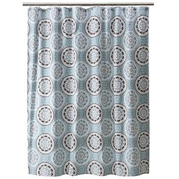 Threshold Medallion Shower Curtain