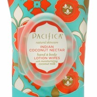 Indian Coconut Nectar Hand & Body Lotion Wipes
