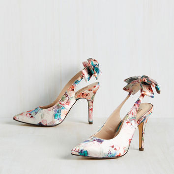 Flor-Ever In Love Heel | Mod Retro Vintage Heels | ModCloth.com