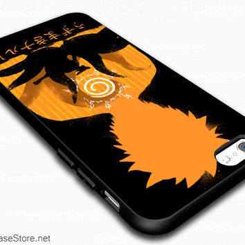Kyubi Nine Tails Fox Kurama Inside Naruto Power Anime Case Cover For iPhone 6 / iPhone 6 Plus